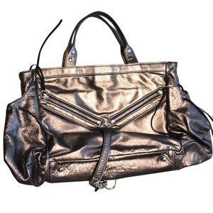 Botkier Trigger Bronze Leather Shoulderbag